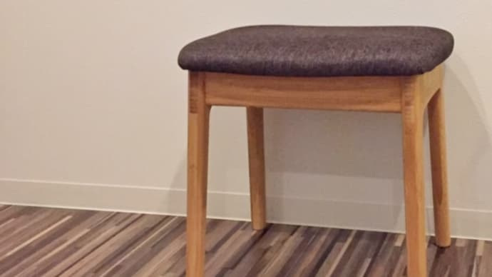 テオリの竹集成材のシンプルなスツール I stool