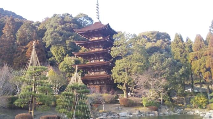司馬遼太郎が絶賛した瑠璃光寺の五重塔