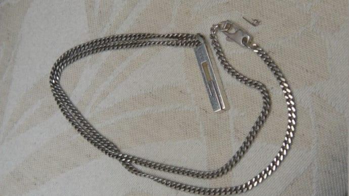 グッチのネックレス留め金具修理