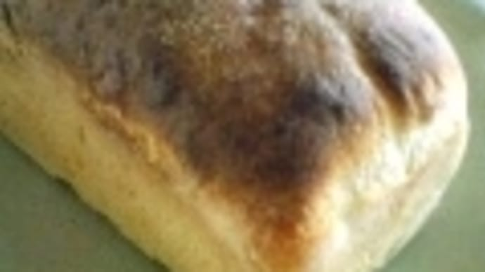 黒豆パンを焼く