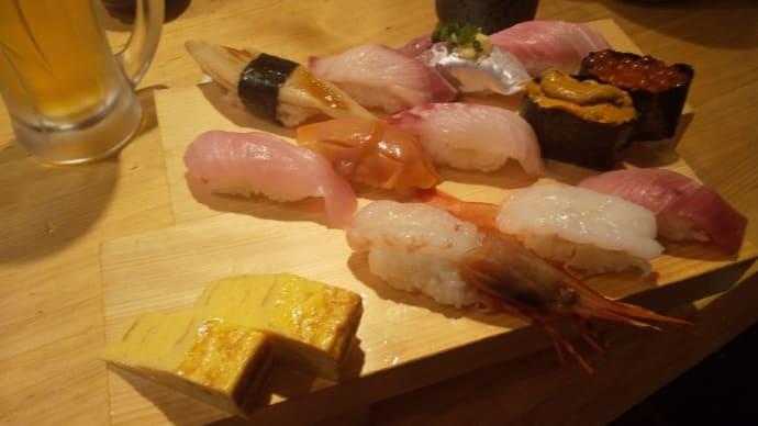 熱海平和通りの人気寿司屋でランチ