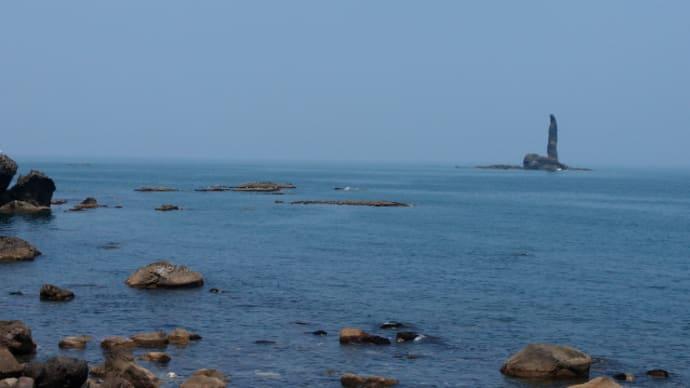 島武意海岸、野塚野営場(7月29日)