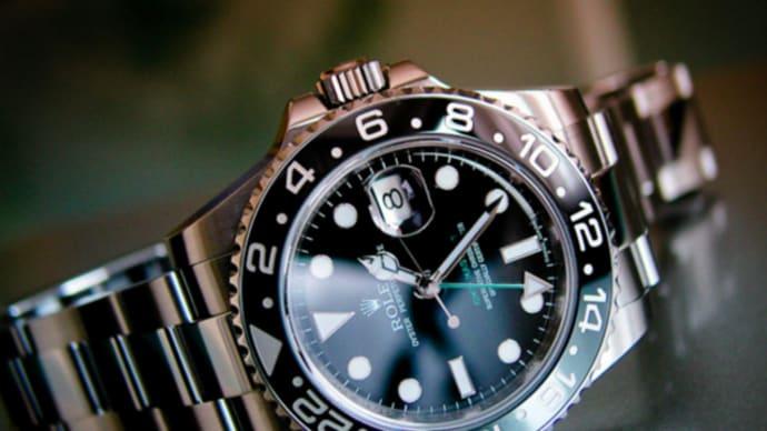 日本人が一番好きな10選のロレックスGMTマスターⅡ腕時計