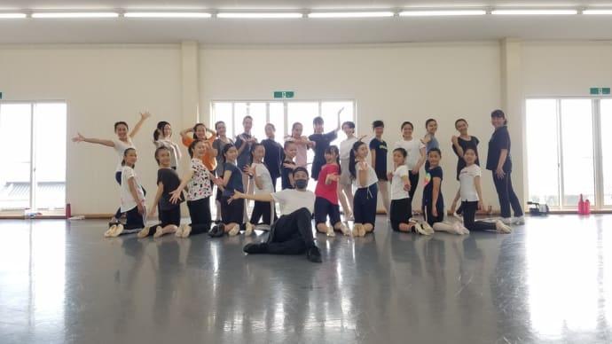 饗場絵美先生のバレエスタジオの合同WSに参加させていただきました!