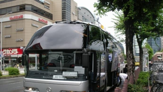 06年7月大阪旅行その1(ツアー夜行バスで名古屋に)