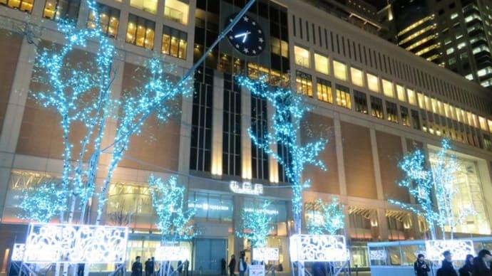 札幌・街の一コマ : JR札幌駅 <夜景シリーズ>