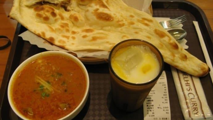 9月2日の昼食(デリーズカレー・新宿店)