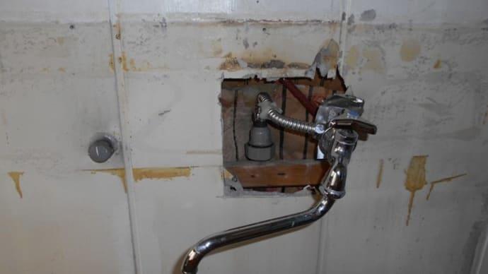 台所の給水管工事・・・千葉市