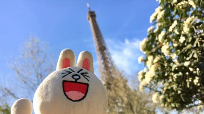 華の都は大混雑@パリ