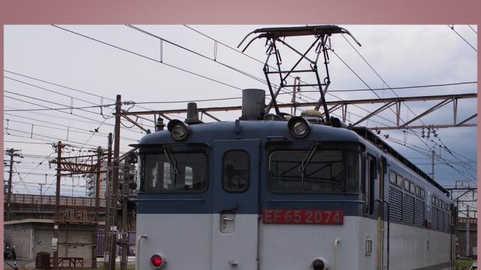 吹田機関区 ・ EF652074が帰還