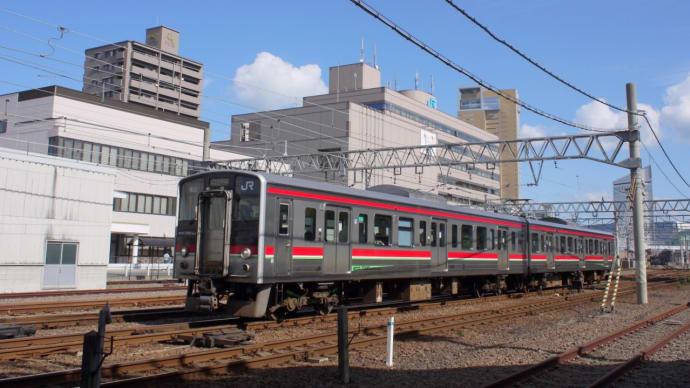 木曜日の高松駅付近にて