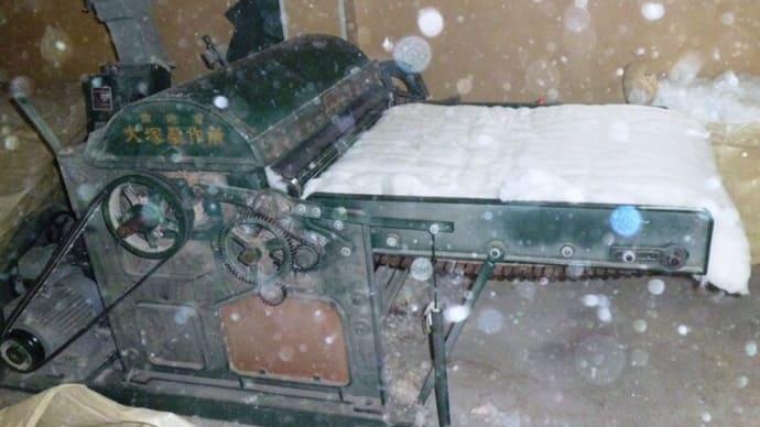 木綿ふとんはリフォームができます。