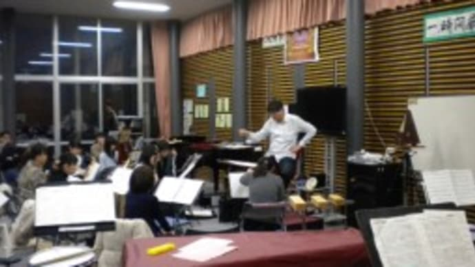 細谷先生をお迎えしてのスプリングコンサート強化練習 (秋田北中学校)