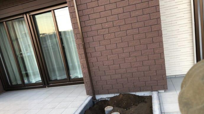 川崎市高津区の個人邸の庭づくり。
