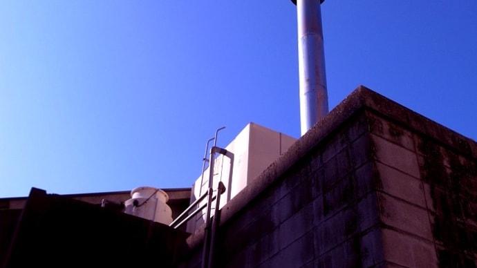 風呂屋さんの煙突