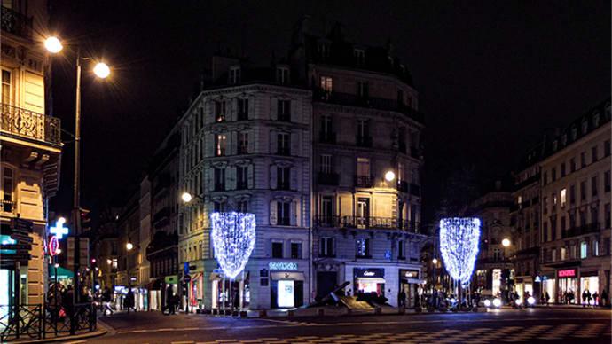 パリ・冬景色