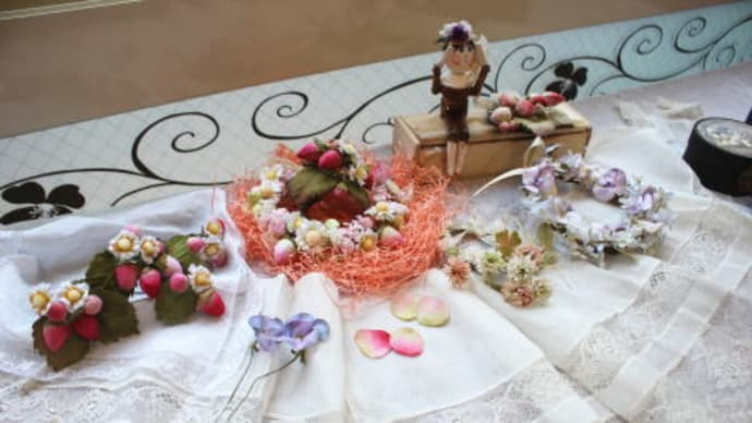 ◆3月20日(土)布花&クラフト教室の様子です◆