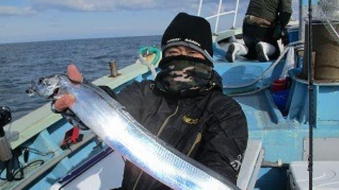 1月11日タチウオ狙い釣果
