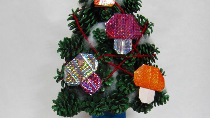クリスマスツリー(三角すい型)