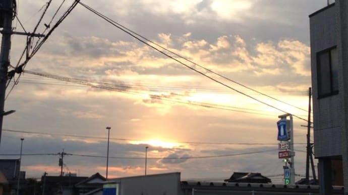 夕陽の時間が好き