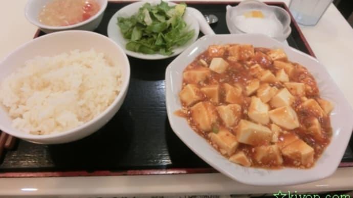 平成27年7月18日の食事(海老名で中華料理の定食)