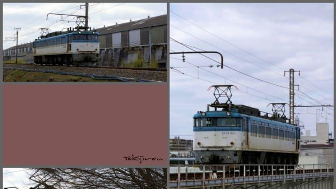 EF81-503 神崎川橋梁