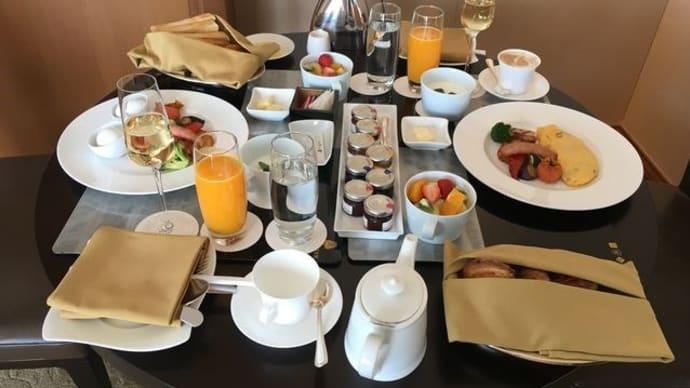 セントレジスホテル大阪*シャンパン・ブランチ&パブリックスペース