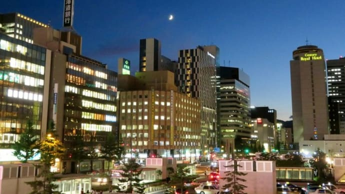 札幌・街の一コマ : 夜景