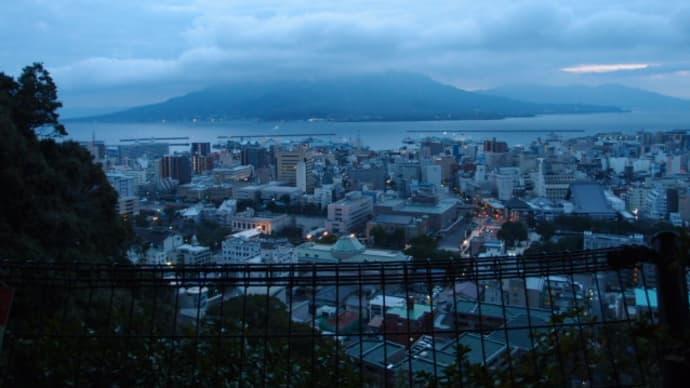 桜島の朝日とえびの高原、霧島神社