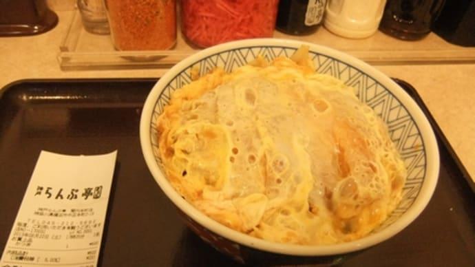 平成25年6月22日の食事(神戸ランプ亭のカツ丼)