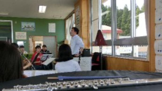 豊岩中・シュヴェ合同練習 (豊岩中学校)