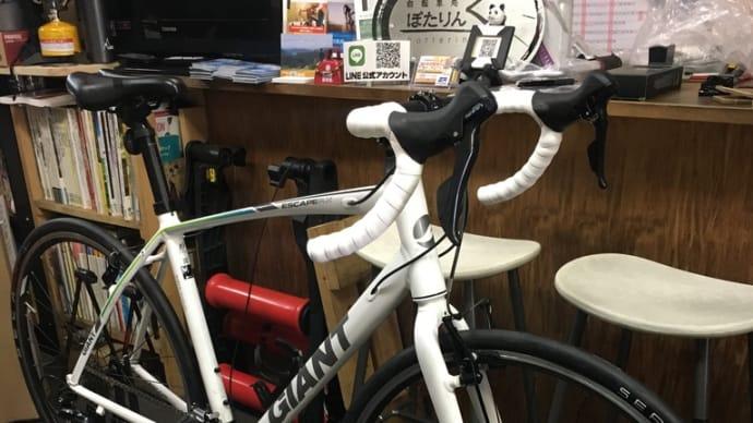 あり?なし?  クロスバイクのドロップハンドル化。GIANT エスケープRX3