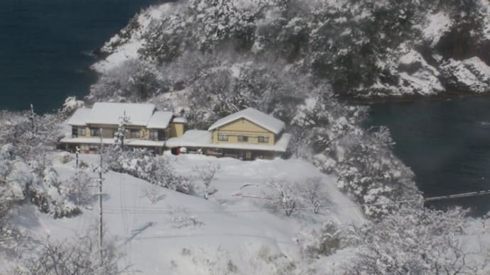 大雪の香住