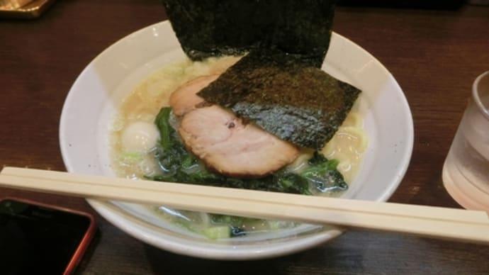 平成29年5月15日の食事(野毛のラーメン)