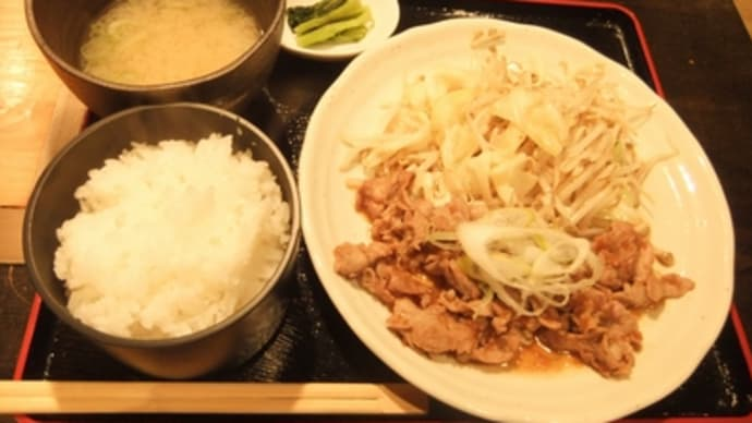 24年3月30日の食事(御殿場で昼食)