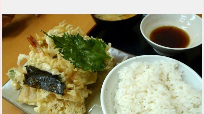 430円の天ぷら定食