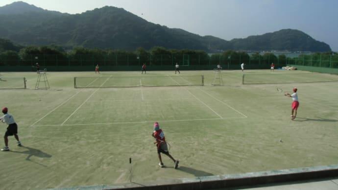 都道府県対抗全日本中学生ソフトテニス大会山口県三次選考会