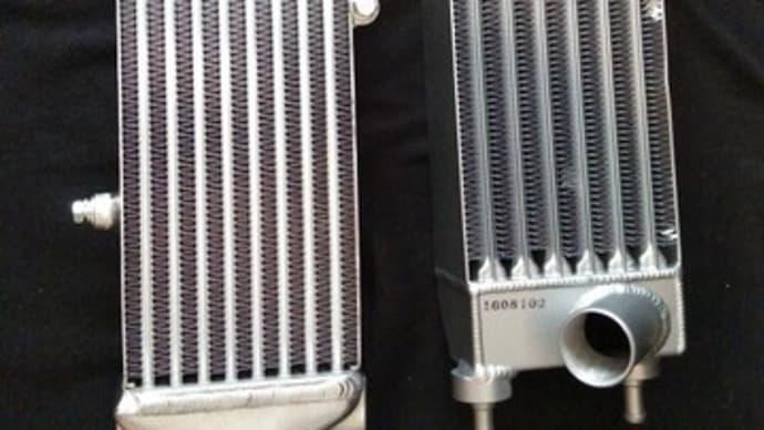 ABARTH&FIAT インタークーラー