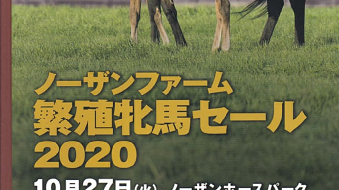 【ノーザンファーム繁殖牝馬セール2020(Northern Farm Broodmare Sale)】~結果概要(最高額馬写真・動画、インタビュー映像など)