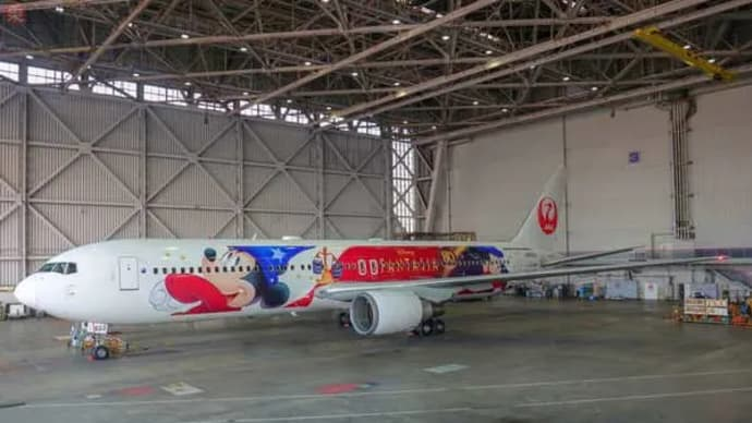 JALが動画で公開!「超顔デカイミッキー塗装機」完成までの全貌とは3分ながら超濃密…