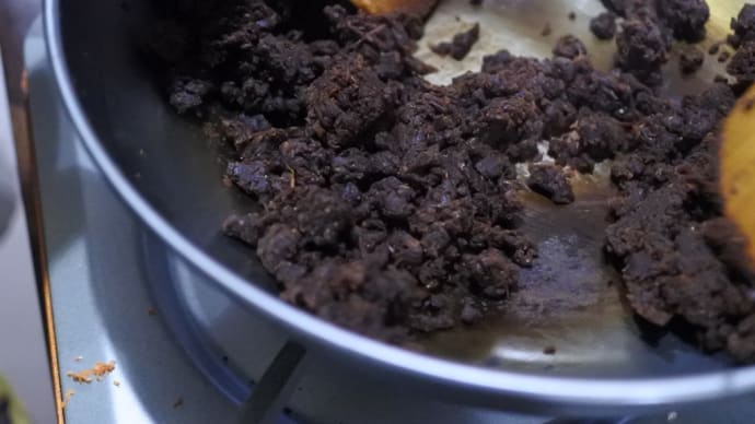 鉄火味噌作りはやはり大変です