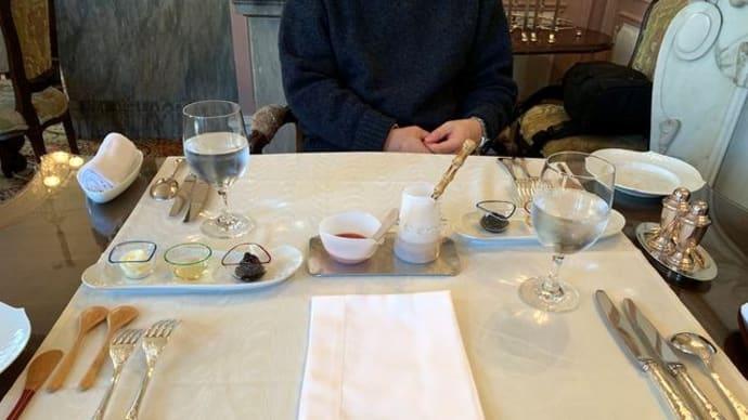 ホテル長楽館「迎賓の間」にて朝食♪