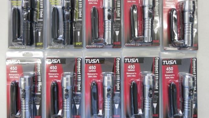 2017年TUSAの新製品 コンパクトLEDライト入荷しました