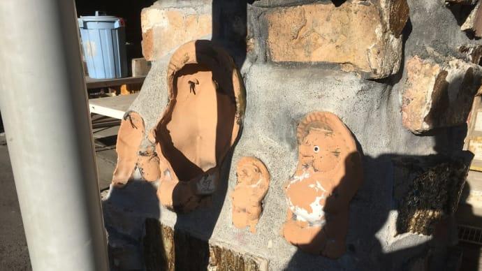なぜ信楽タヌキを壁に埋めるのか? 信楽タヌキ紹介#1