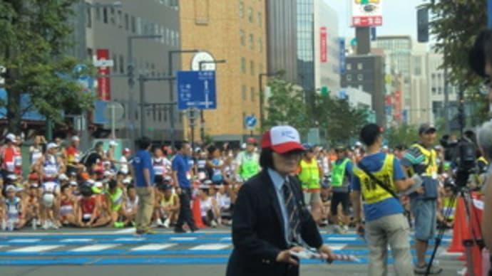 北海道マラソン当日