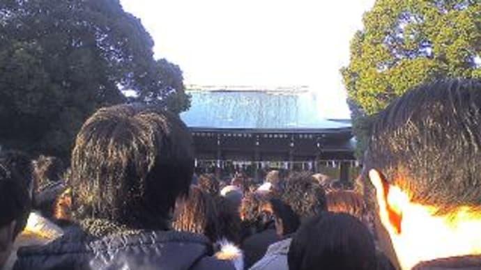 ☆明治神宮です