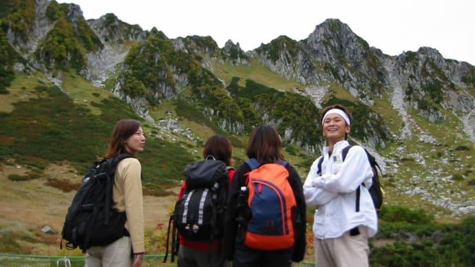 2002年9月 木曽駒ケ岳