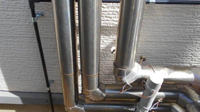 給水管のやり替え工事