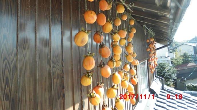 柿の皮剥ぎ