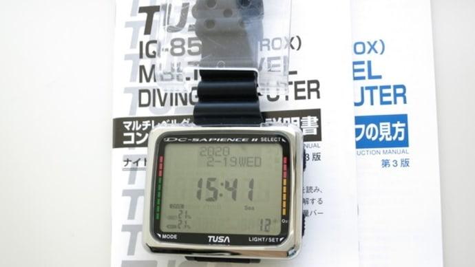 TUSA IQ-850.IQ-800ダイブコンピュータ(中古)あります